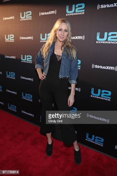 Nikki Glaser attends SiriusXM's private concert with U2 at The Apollo Theater as the band takes a one night detour from the eXPERIENCE iNNOCENCE Tour...