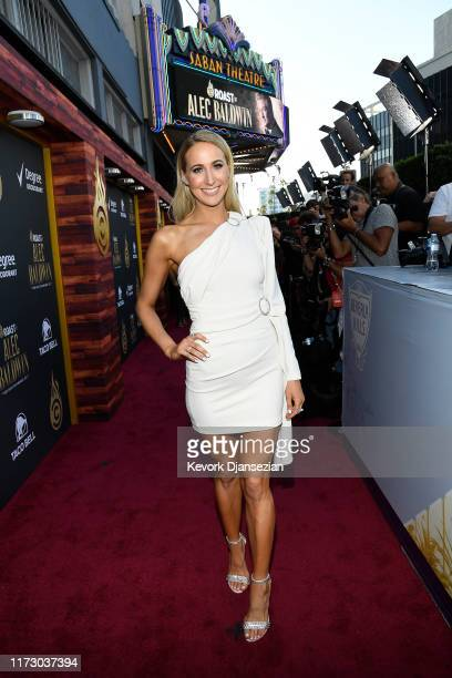 Nikki Glaser attends the Comedy Central Roast of Alec Baldwin at Saban Theatre on September 07 2019 in Beverly Hills California