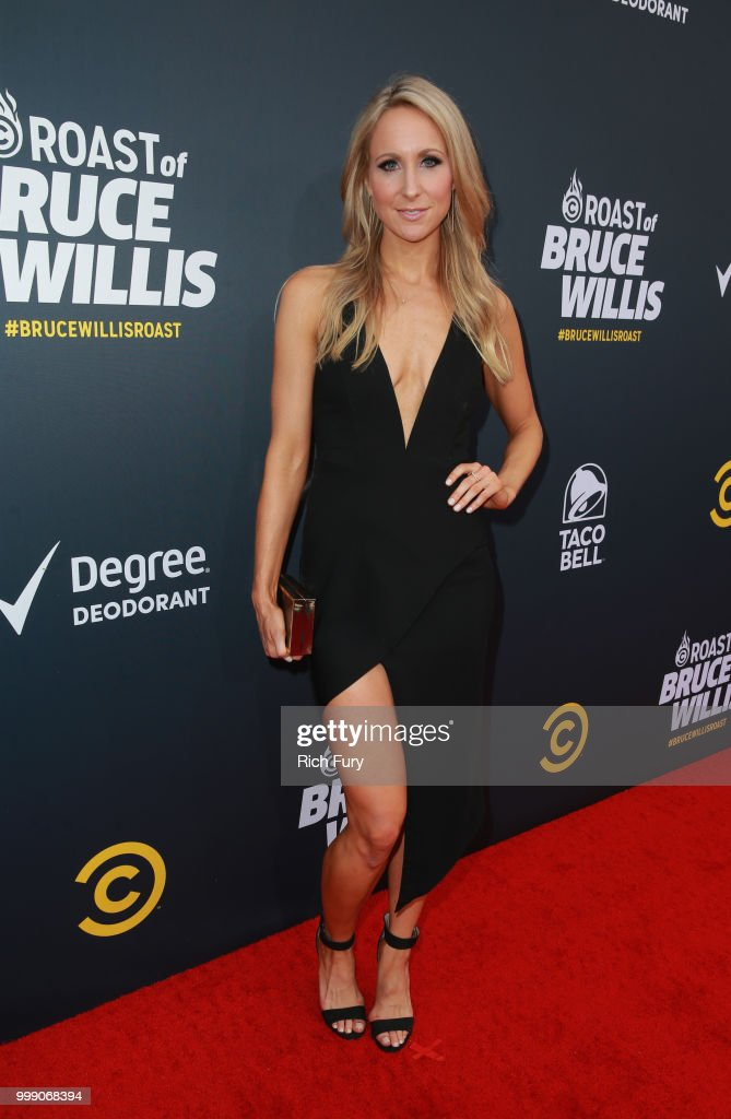 Nikki Glaser attends the Comedy Central Roast of Bruce Willis at Hollywood Palladium on July 14, 2018 in Los Angeles, California.