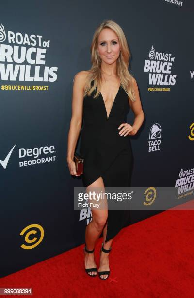 Nikki Glaser attends the Comedy Central Roast of Bruce Willis at Hollywood Palladium on July 14 2018 in Los Angeles California
