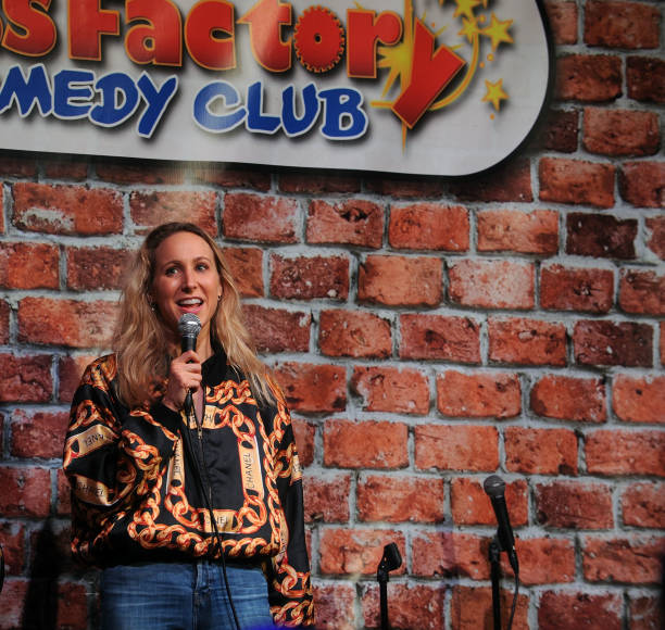 NJ: Nikki Glaser Performs At The Stress Factory Comedy Club