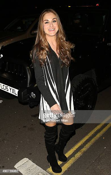 Nikki Grahame at the Reality TV awards on September 30 2015 in London England