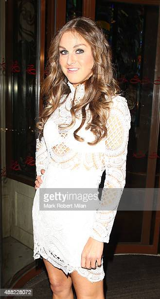 Nikki Grahame at the Soho Sanctum Hotel on September 14 2015 in London England
