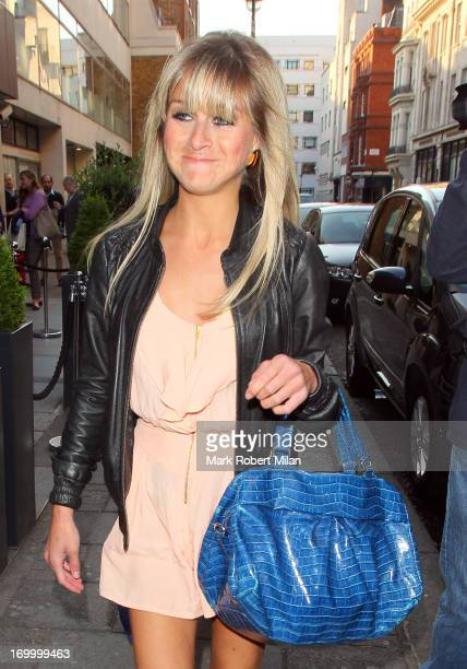 Nikki Grahame attending the Retro Feasts launch party on June 5 2013 in London England