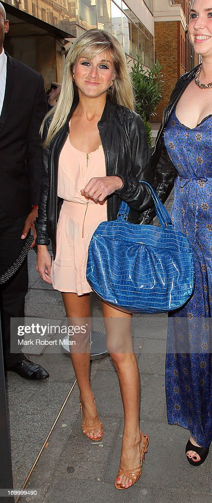 Nikki Grahame attending the Retro Feasts launch party on June 5, 2013 in London, England.