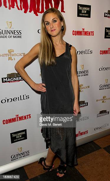 Nikki Grahame attends an after party following the press night performance of 'The Commitments' at O'Neill's Soho on October 8 2013 in London England