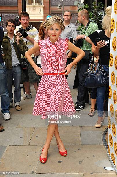 Nikki Grahame attends the Keans for Genes CelebriTee party at Soho Hotel on June 22 2010 in London England