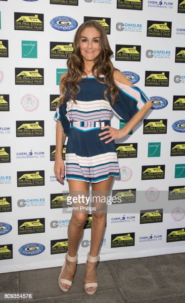 Nikki Grahame attends the Paul Strank Charitable Trust Summer Party at Mint Leaf on July 5 2017 in London England