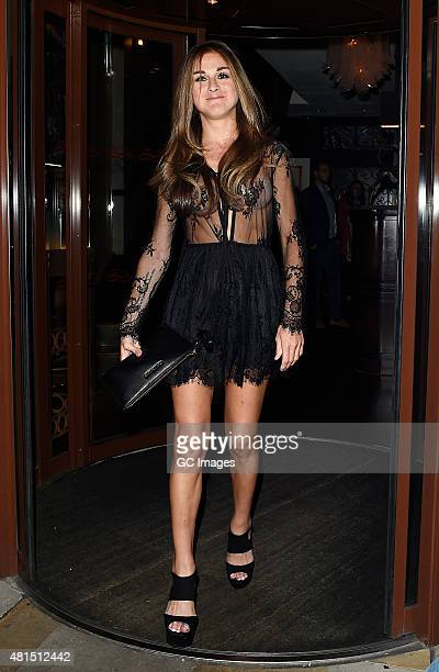 Nikki Graham attends The Soho Sanctum Hotel for the Charity Stars supporters summer party on July 21 2015 in London England