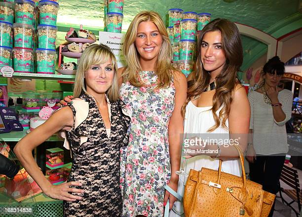 Nikki Grahame Cheska Hull and Gabriella Ellis attend the Blue Cross tea party on May 8 2013 in London England