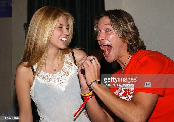 Nikki Griffin And Michael Graziadei At Comparte S Chocolatier Photo News Photo Getty Images
