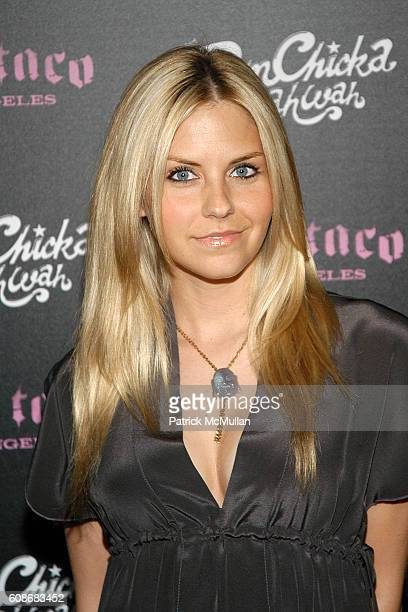 Nikki Griffin attends Harry Morton's Pink Taco Restaurant Celebrates the Opening of New Los Angeles Outpost at Pink Taco on June 28 2007 in Century...