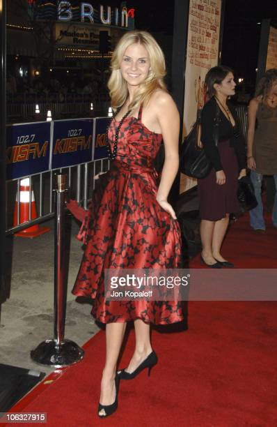 """Nikki Griffin during DreamWorks' """"She's the Man"""" Los Angeles Premiere - Red Carpet at Mann's Village in Westwood, California, United States."""