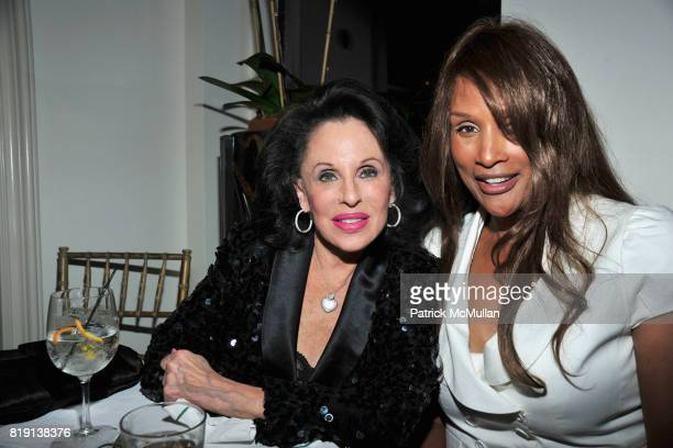 Nikki Haskell and Beverly Johnson attend ALEX HITZ Party at Private Residence on March 6 2010 in Hollywood California