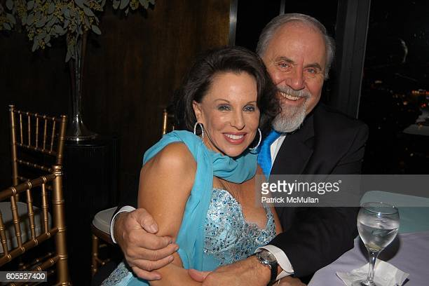 Nikki Haskell and George Schlatter attend Nikki Haskell Dinner at Nikki Haskell Penthouse on January 13 2006 in Beverly Hills CA