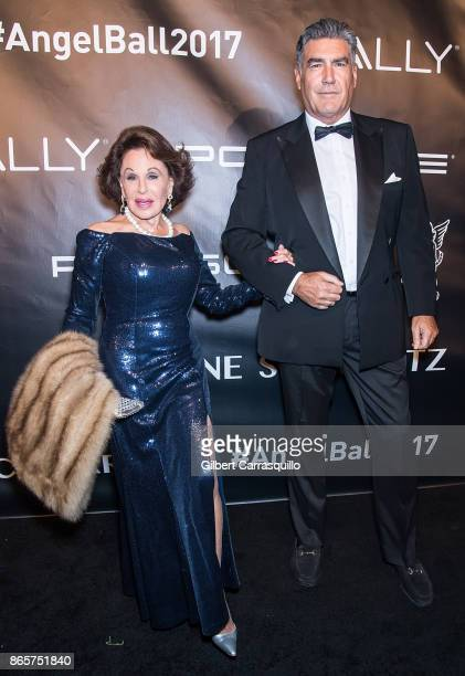 Nikki Haskell arrives at Gabrielle's Angel Foundation's Angel Ball 2017 at Cipriani Wall Street on October 23 2017 in New York City