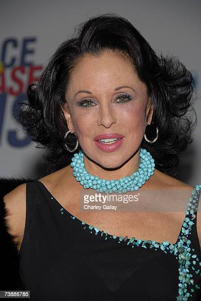 Nikki Haskell arrives at the 14th Annual Race To Erase MS Dance to Erase MSthemed gala at the Hyatt Regency Century Plaza Hotel on April 13 2007 in...