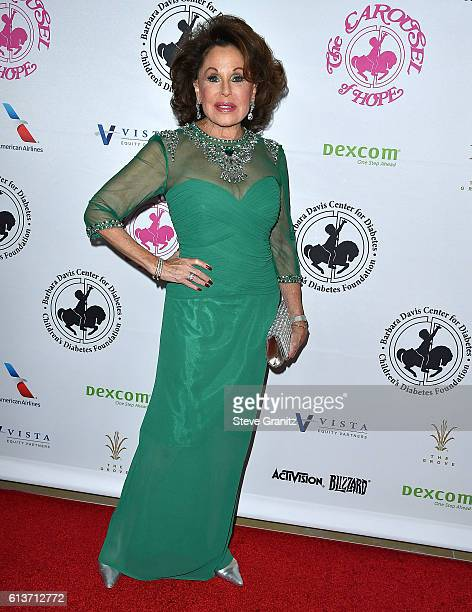 Nikki Haskell arrives at the 2016 Carousel Of Hope Ball at The Beverly Hilton Hotel on October 8 2016 in Beverly Hills California