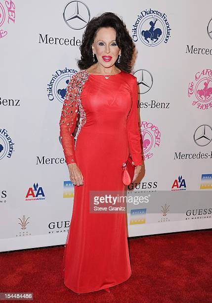 Nikki Haskell arrives at the 26th Anniversary Carousel Of Hope Ball presented by MercedesBenz at The Beverly Hilton Hotel on October 20 2012 in...