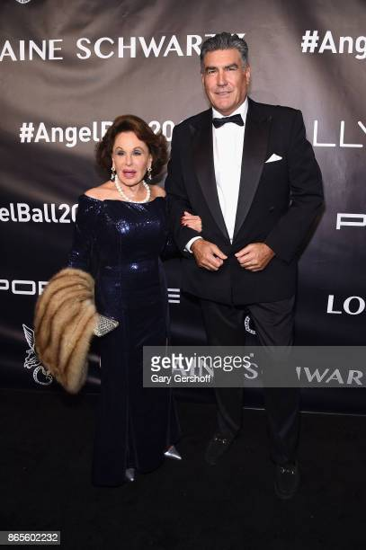 Nikki Haskell attends Angel Ball 2017 at Cipriani Wall Street on October 23 2017 in New York City