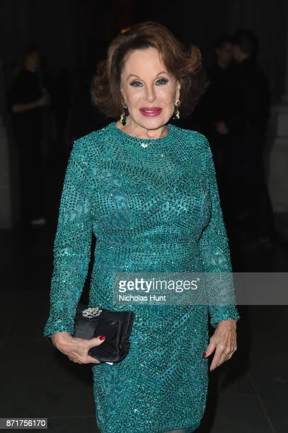 Nikki Haskell attends Elton John AIDS Foundation 25th Year And Honors Founder Sir Elton John During New York Fall Gala at Cathedral of St John the...