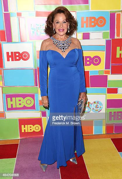 Nikki Haskell attends HBO's Annual Primetime Emmy Awards Post Awards Reception at The Plaza at the Pacific Design Center on August 25 2014 in Los...