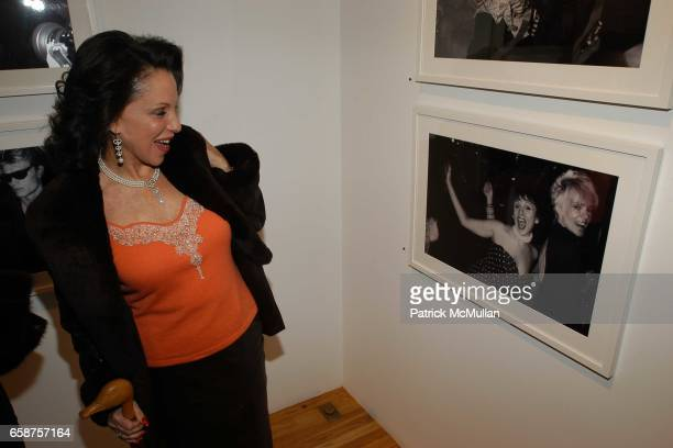 Nikki Haskell attends Patrick McMullan so8os Photo Exhibition at The Earl McGrath Gallery Hosted by Perrier Jouet on February 25 2004 in Hollywood...
