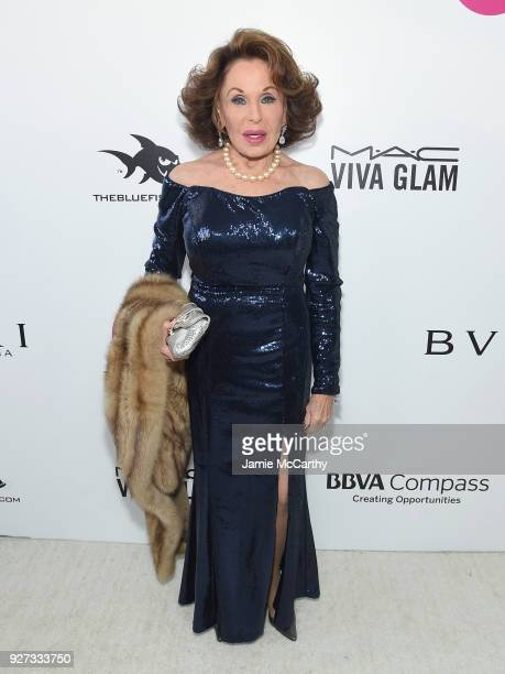 Nikki Haskell attends the 26th annual Elton John AIDS Foundation Academy Awards Viewing Party sponsored by Bulgari celebrating EJAF and the 90th...