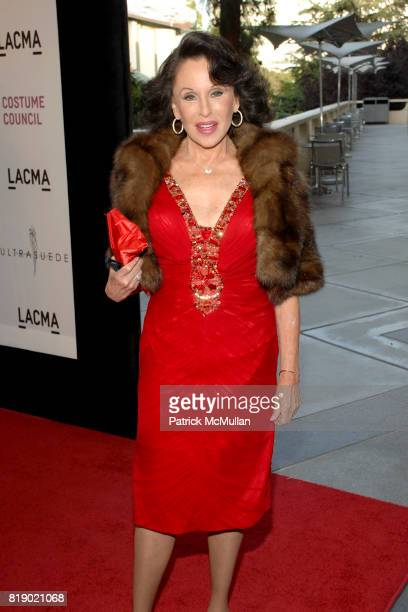 Nikki Haskell attends THE COSTUME COUNCIL of LACMA presents the West Coast Premiere of Ultrasuede In Search of Halston Arrivals at LACMA on May 12...