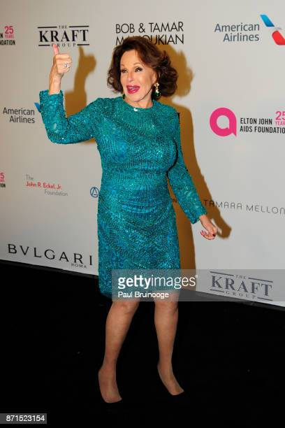 Nikki Haskell attends the Elton John AIDS Foundation Commemorates Its 25th Year And Honors Founder Sir Elton John During New York Fall Gala Arrivals...