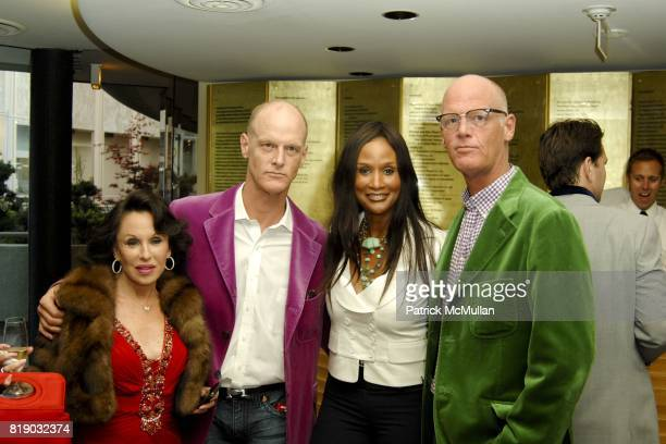 Nikki Haskell Robert Dupont Beverly Johnson and Richard Dupont attend THE COSTUME COUNCIL of LACMA presents the West Coast Premiere of Ultrasuede In...