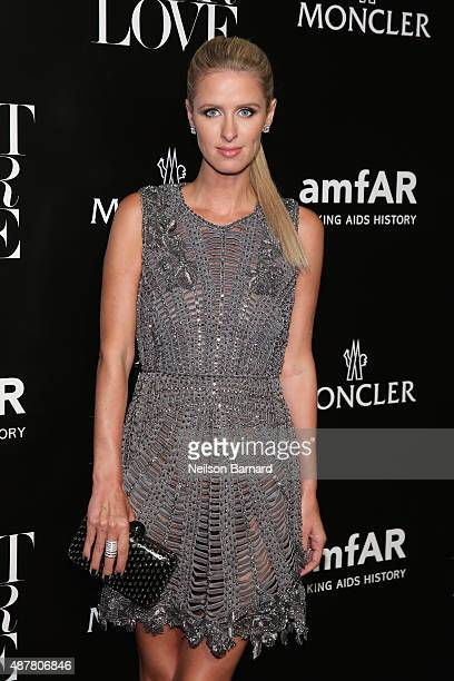 Nikki Hilton attends a private viewing and dinner for Art For Love 32 Photographers Interpret The Iconic Moncler Maya Jacket hosted by Remo Ruffini...