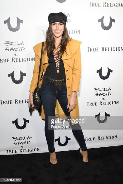 Nikki Howard attends Bella Hadid x True Religion Event Campaign Party at Poppy on October 18 2018 in Los Angeles California