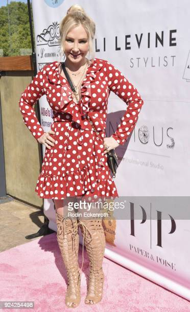 Nikki Lund attends BRAVO'S Stripped TV Personality and Celebrity Fashion Stylist Expert Ali Levine's Pink Carpet Baby Shower at Rockwell Table Stage...