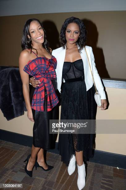 "Nikki M. James and Krystal Joy Brown attend The Cinema Society & Monkey 47 Host A Special Screening Of Sony Pictures Classics' ""Greed"" at Cinepolis..."