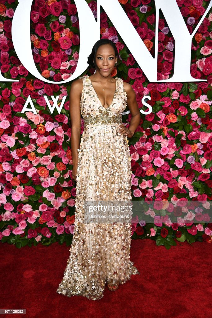 Nikki M. James attends the 72nd Annual Tony Awards at Radio City Music Hall on June 10, 2018 in New York City.