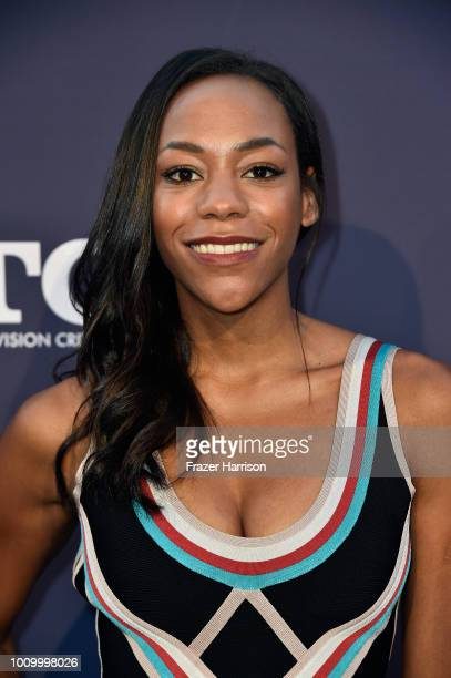 Nikki M James attends the FOX Summer TCA 2018 AllStar Party at Soho House on August 2 2018 in West Hollywood California