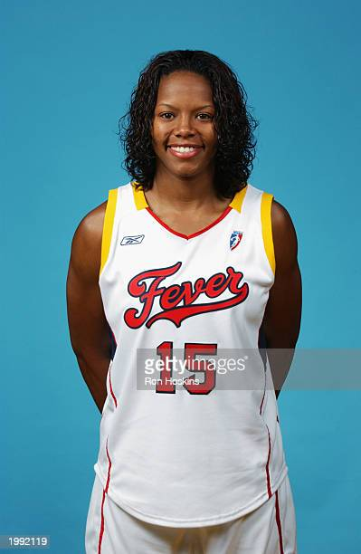 Nikki McCray of the Indiana Fever during the Fever Media Day portrait shoot on May 6 2003 in Indianapolis Indiana NOTE TO USER User expressly...