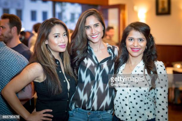 Nikki McKenzie Shadee Malekafzali and Kosha Patel attend the Landing Up World Premiere during 20th Annual Dances With Films at TCL Chinese 6 Theatres...