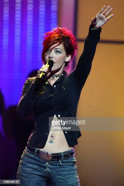 "Nikki McKibbin during ""American Idol"" Season 1 - Concert Tour in Law Vegas - September 18, 2006 at MGM Grand Hotel Garden Arena in Las Vegas, Nevada,..."
