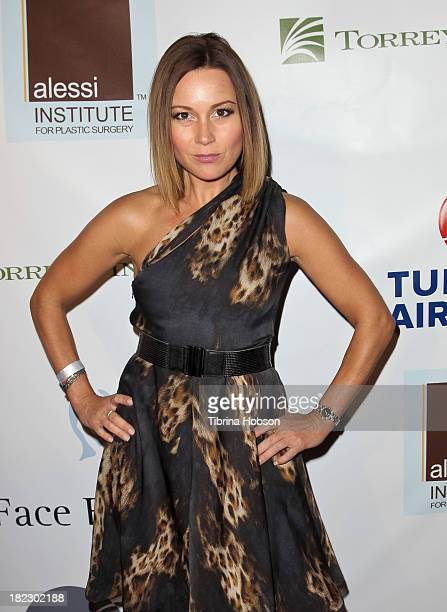 Nikki Michelini attends the 4th annual Face Forward LA Gala at Fairmont Miramar Hotel on September 28 2013 in Santa Monica California