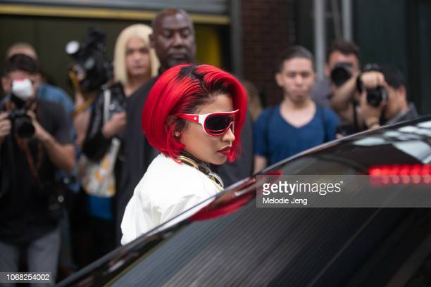 Nikki Minaj at the Monse show during New York Fashion Week Spring/Summer 2019 on September 7 2018 in New York City