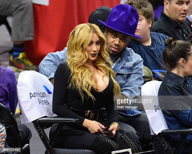 Nikki Mudarris attends a basketball game between Indiana Pacers and the Los Angeles Clippers at Staples Center on December 2 2015 in Los Angeles...