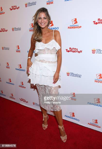 Nikki Novak attends the ComicCon International 2017 Fandango opening night party with special performance by Elle King at San Diego Convention Center...