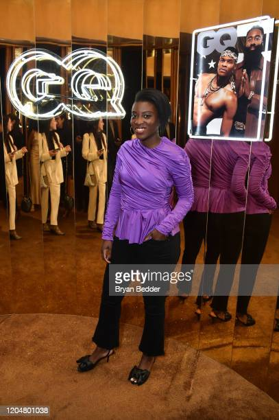 Nikki Ogunnaike attends the GQ March Cover Party at The Standard Highline on March 01 2020 in New York City