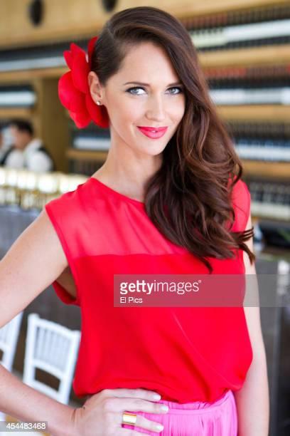 Nikki Phillips attends the Spring racing carnival launch Centenial Park restaurant on September 6 2011 in Sydney Australia