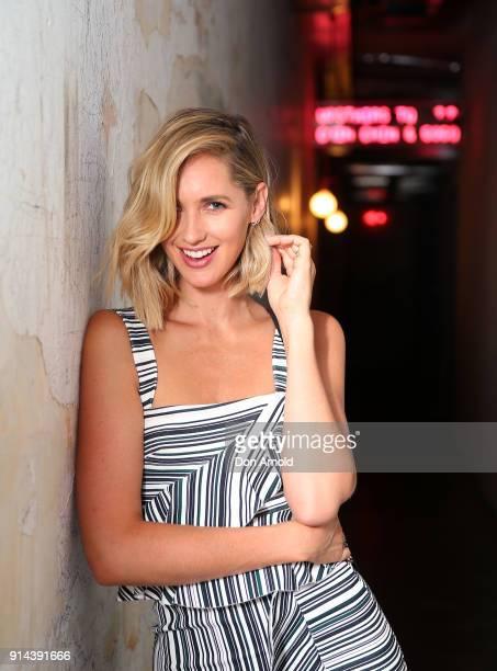 Nikki Phillips poses inside Chi Town restaurant on February 5 2018 in Sydney Australia