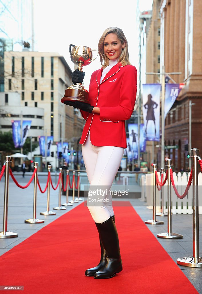 Nic Westaway And Nikki Phillips Bring The Melbourne Cup To Martin Place