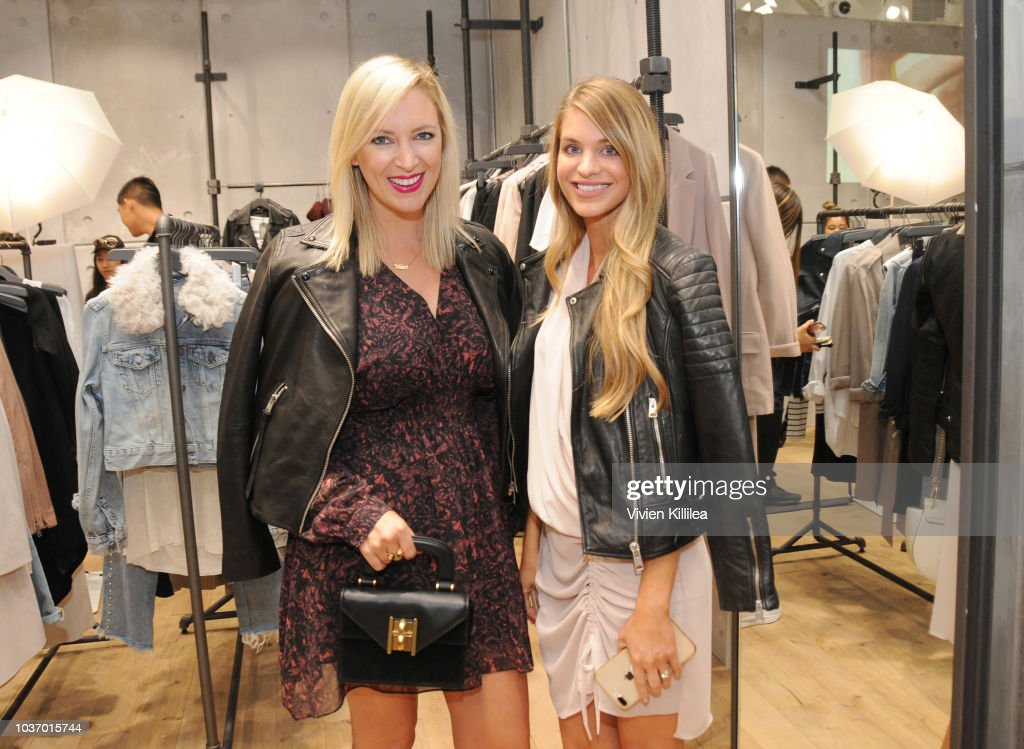 AllSaints South Coast Plaza Store Opening