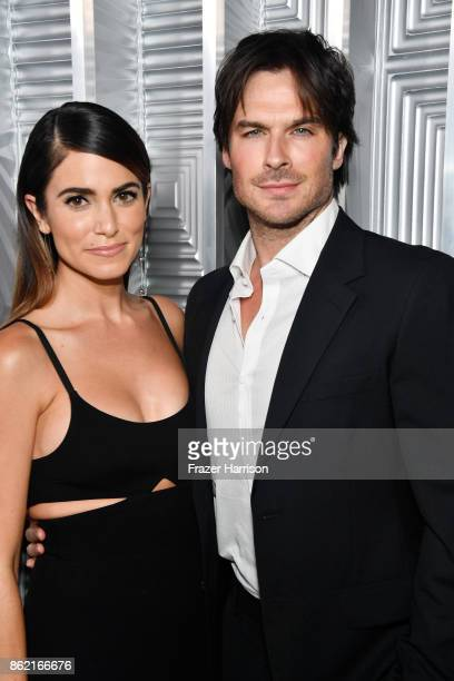 Nikki Reed and Ian Somerhalder attend ELLE's 24th Annual Women in Hollywood Celebration presented by L'Oreal Paris Real Is Rare Real Is A Diamond and...